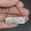 Thumbnail: Mountain Bar Necklace -Mount Assiniboine