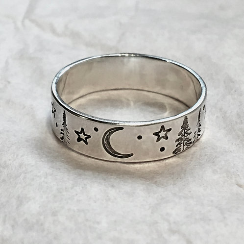 Forest Night Ring