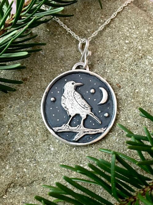 Raven Dark Night Necklace
