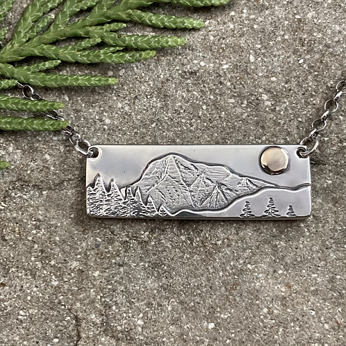 Mount Robson Bar Necklace