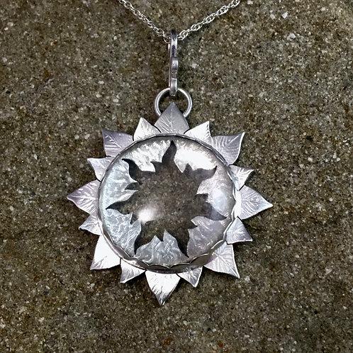 Sunflower Quartz necklace