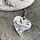 Thumbnail: Eagle Waves Heart Necklace