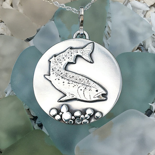 Salmon Necklace