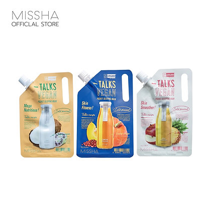 MISSHA Talks Vegan Squeeze Pocket Sleeping Mask