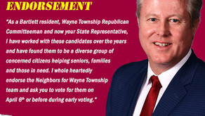 State Representative Seth Lewis Endorses the Neighbors for Wayne Township Team
