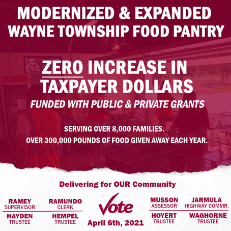 Modernized and Expanded Food Pantry at Wayne Township