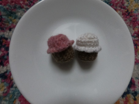 NEW!!! Small Cupcake Crochet Pattern