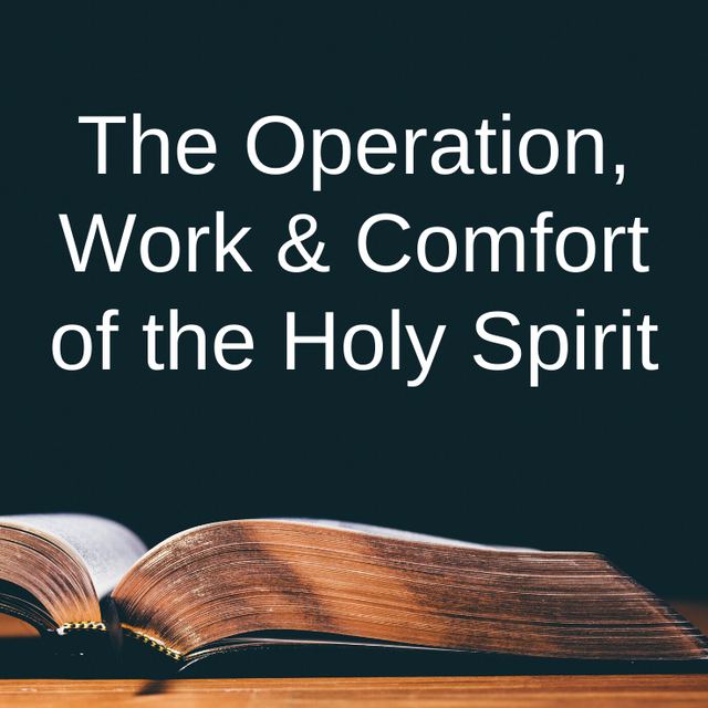 The Operation, Work & Comfort of the Hol