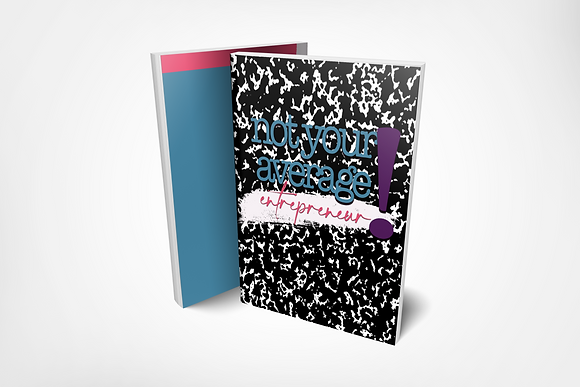 NOT YOUR AVERAGE notebook