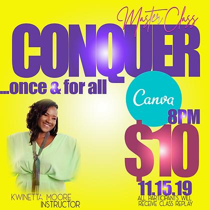 CONQUER CANVA - Masterclass