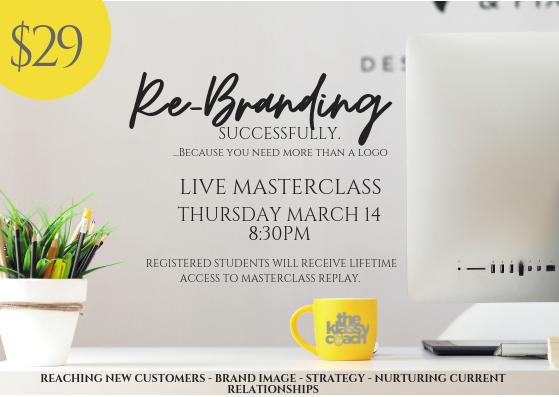 Rebranding Masterclass