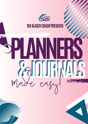 Making Planners & Journals with Canva