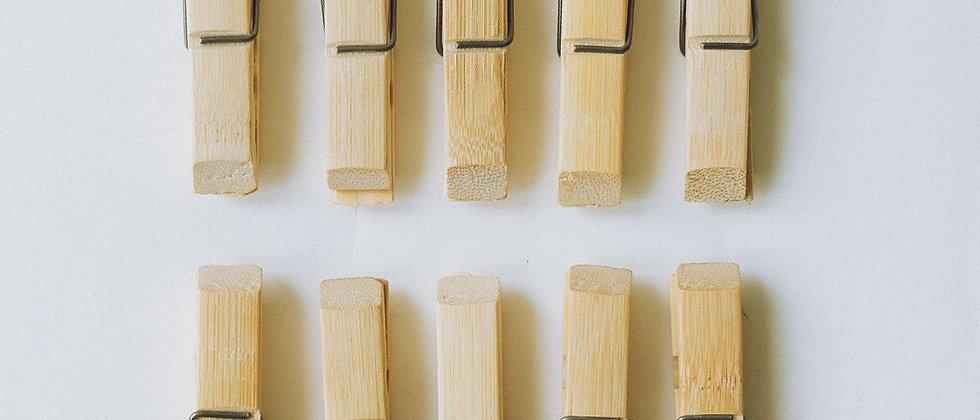 竹衣夾(10件裝)
