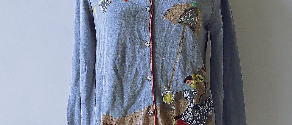 童話故事針織外套