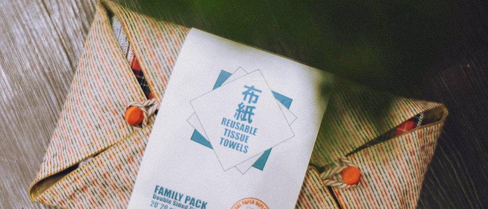家庭裝布紙巾