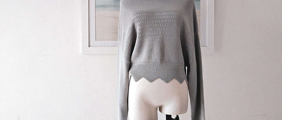Dream like a cloud knit top