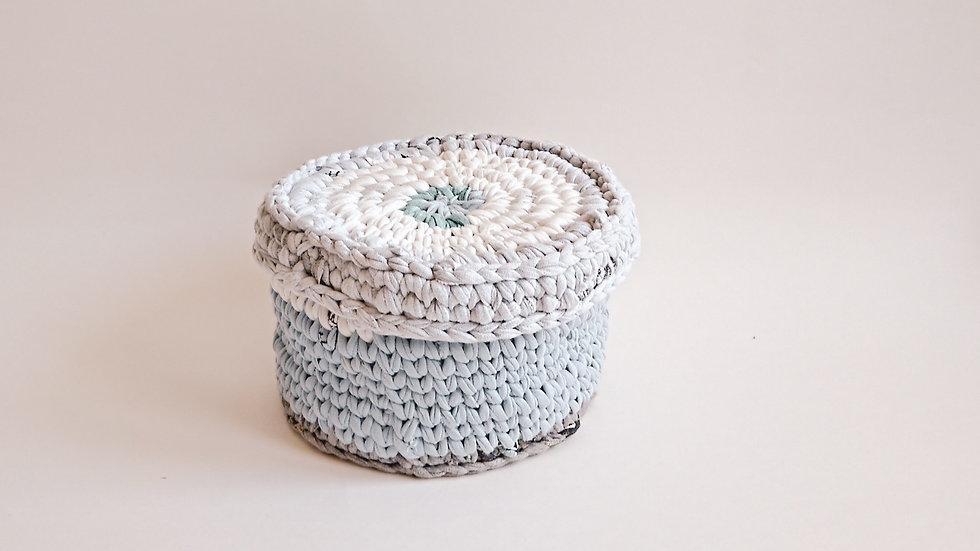 Azure Crochet Box