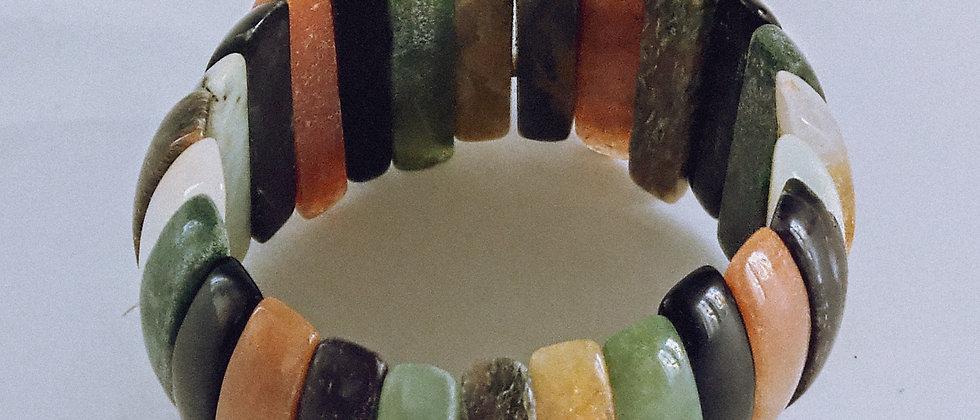 Natural stone braclet