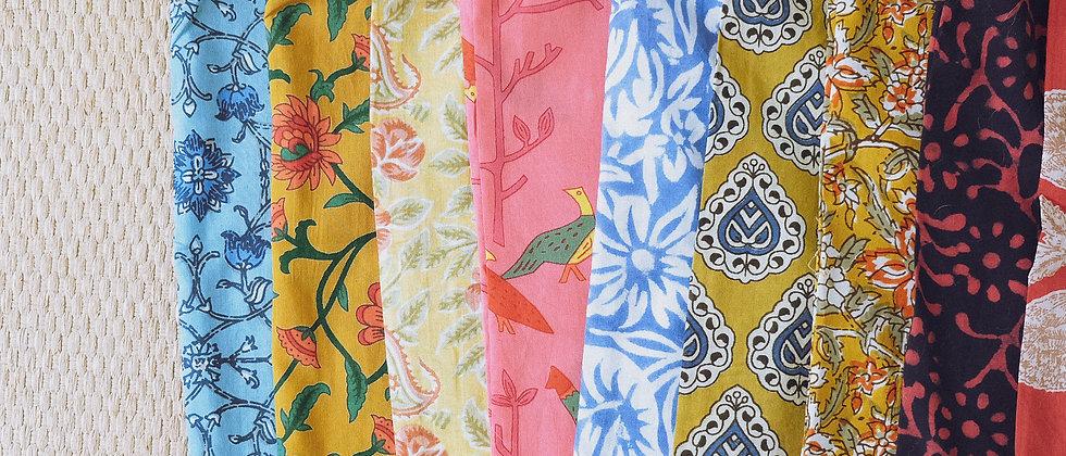 印度手工印染升級再造布袋