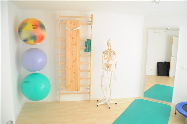 Behandlungsraum Physiotherapie im Physio Cental Hall
