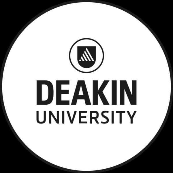 Deakin Uni White Png Logo.png
