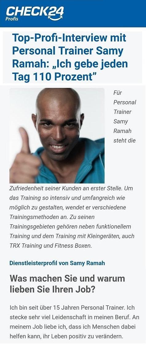 personal trainer Gelsenkirchen