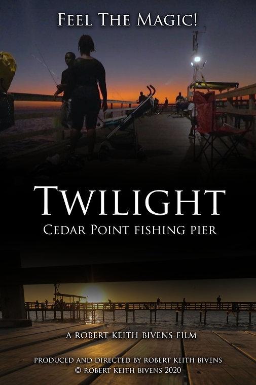 Cedar Point Fishing Pier_Twilight_poster