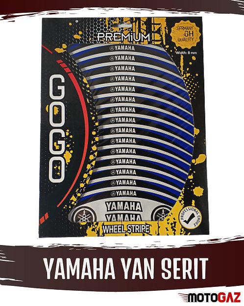 Yamaha Yan Şerit Pad Sticker