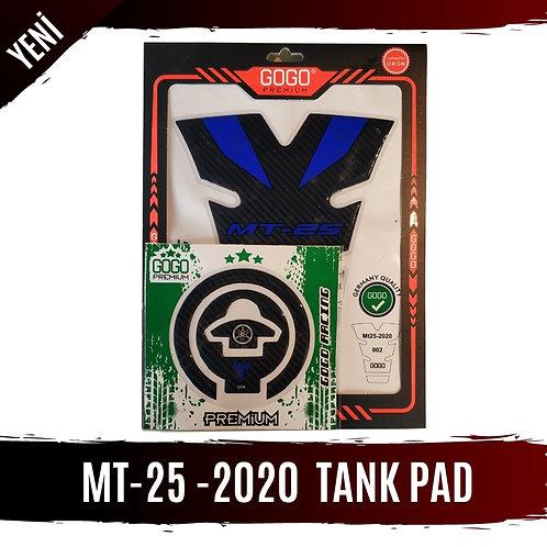 MT-25 2020 MODEL TANK PAD SETİ CARBON KONSEPT