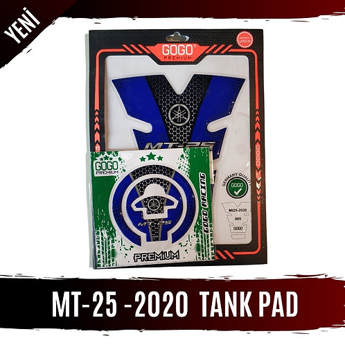 MT-25 2020 MODEL TANK PAD SETİ MAVİ