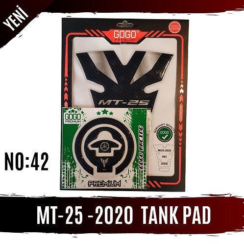 MT-25 2020 MODEL TANK PAD SETLERİ