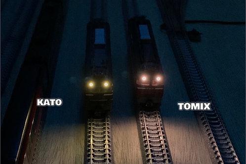 TOG2 機関車用の新型ライトユニット