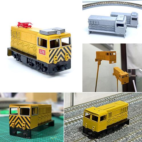 事業用ミニ機関車 3Dプリント