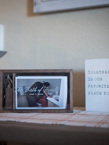 Wood Print Box