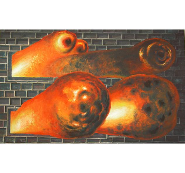 fire (first version), 2004