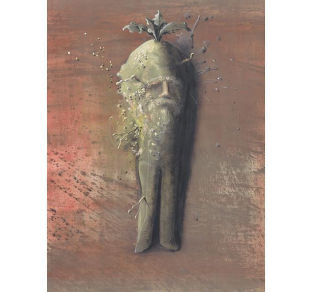 Mandrake/herman de vries, 2001