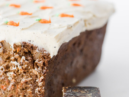 Carrot Cake with Brown Butter Cream Cheese Icing by Camilla Hrytzak