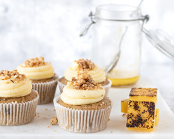 Coffee Cupcake with Brown Butter Streusel