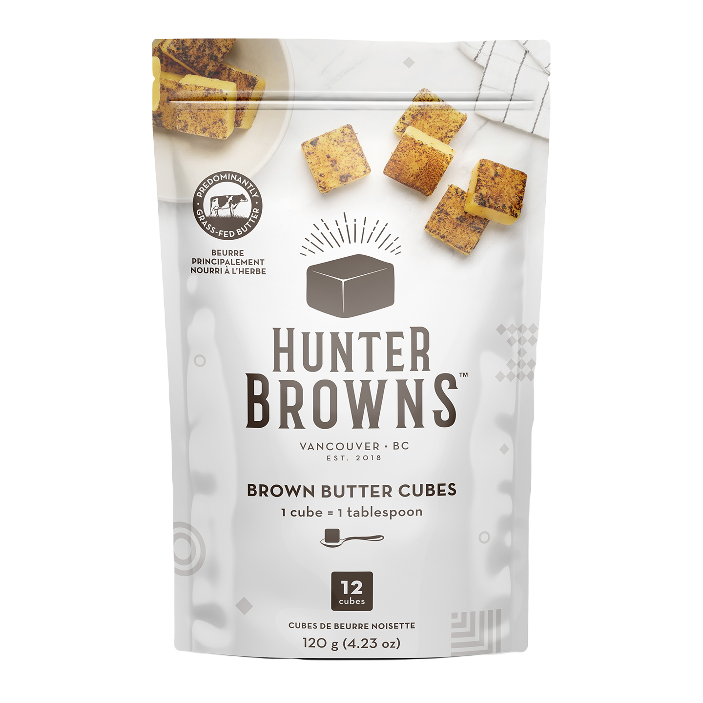 Hunter Browns Package Front