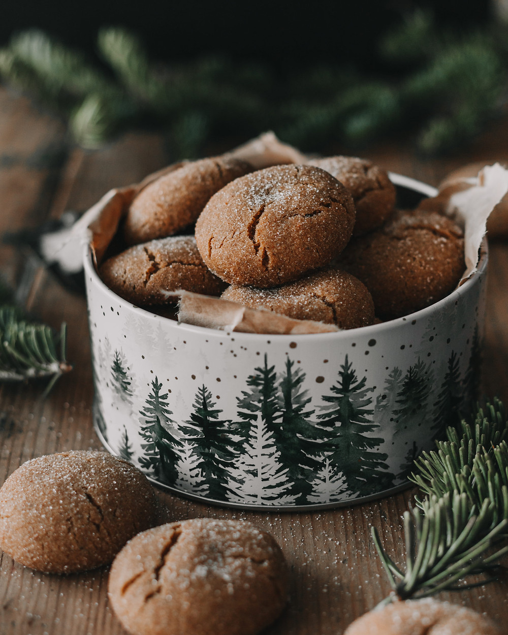 Brown Butter and Spice Cookies using Hunter Browns' Brown Butter Cubes