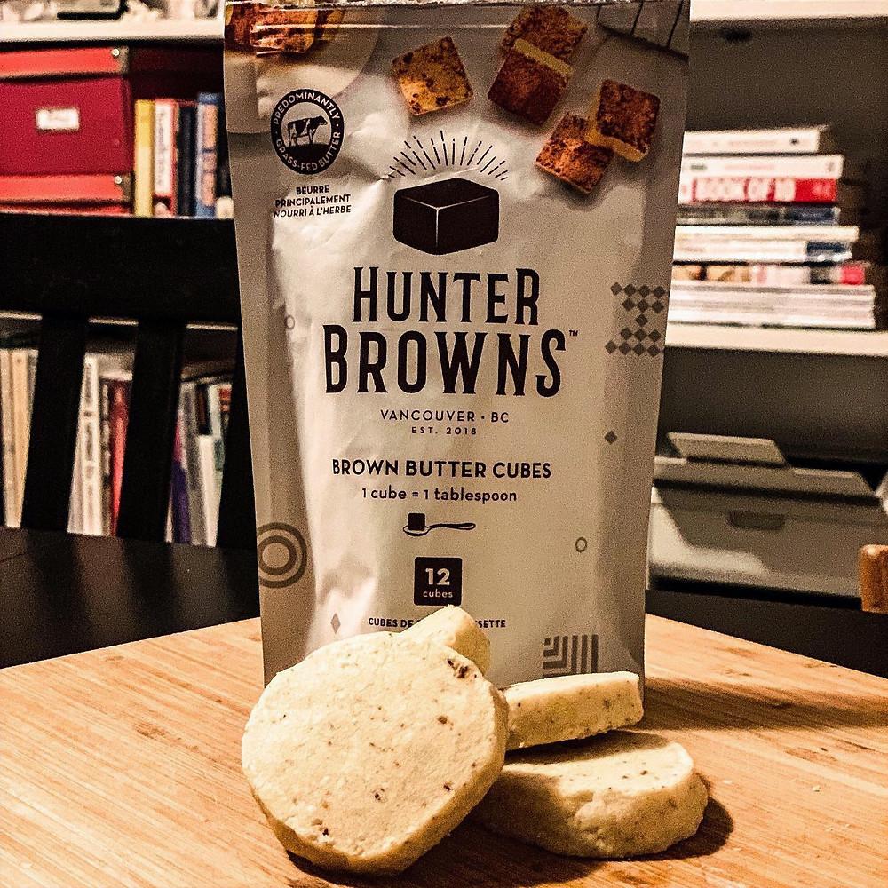 Hunter Browns Shortbread Cookies using Brown Butter Cubes