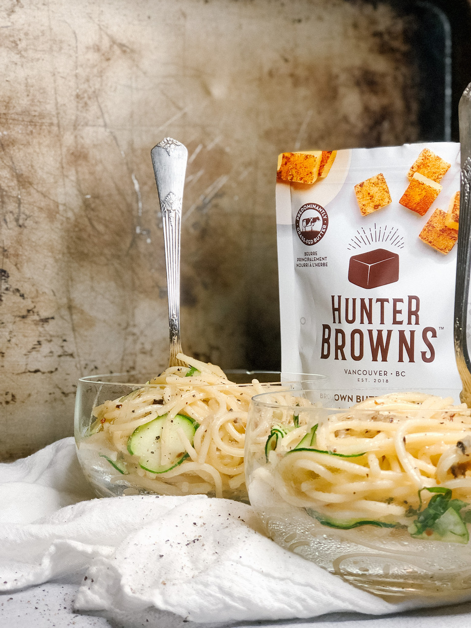 Brown Butter Spaghetti