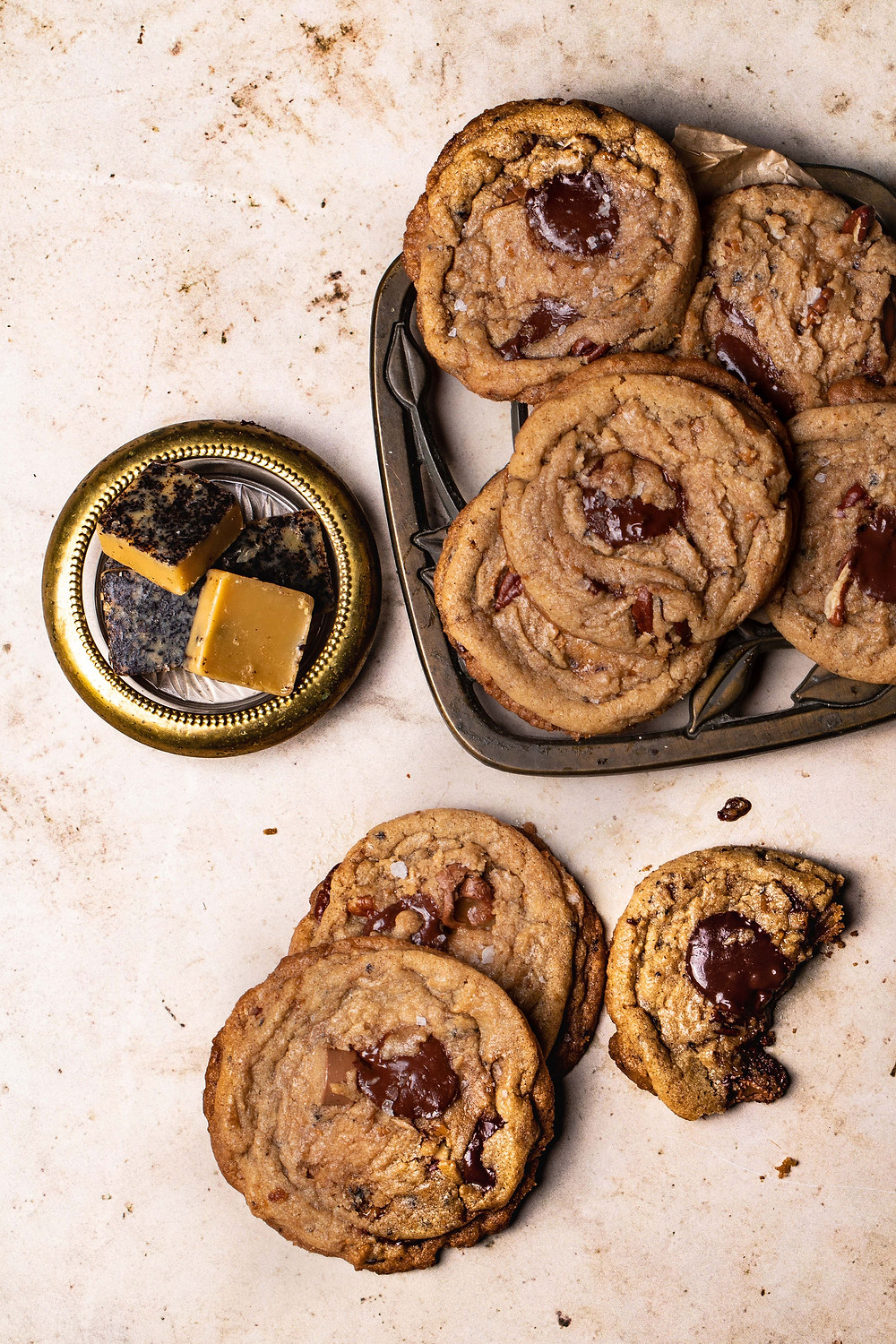 Brown Butter and Chocolate Cookies using Hunter Browns' Brown Butter Cubes