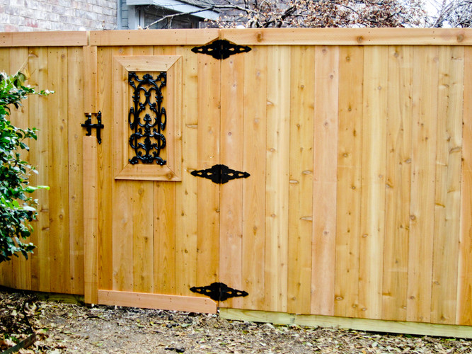 6' Side by Side 1X4 Trim Dec Gate