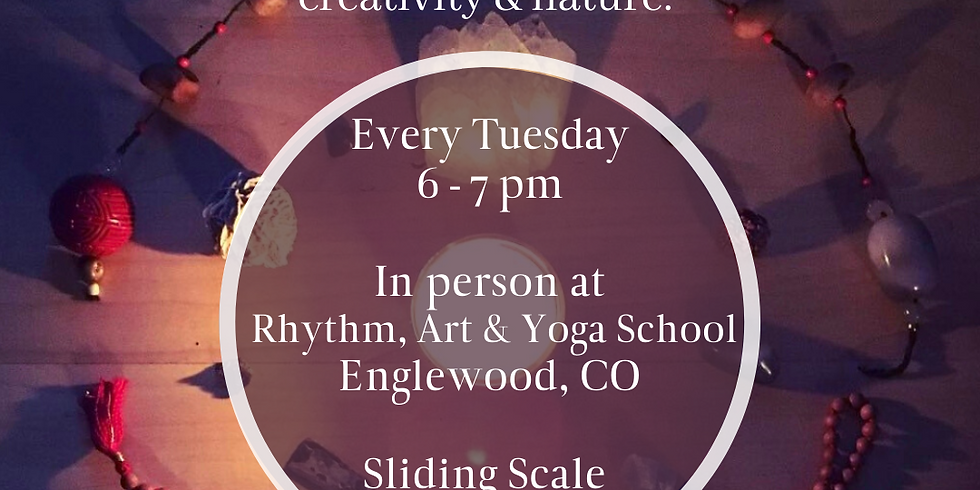 Tuesday Evening Expressive Arts (In Person)