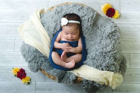 """Brooks & Davis Photography """"Baby In A Basket"""""""