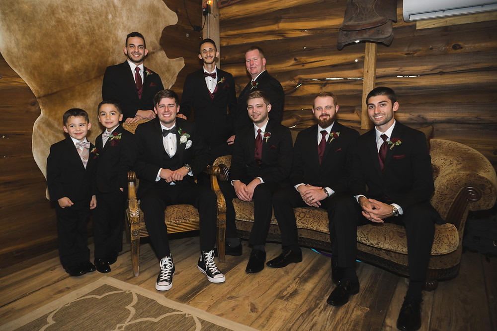 Florida Rustic Barn Weddings Grooms Getting Ready