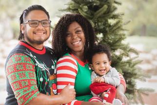 Festive Family & First Birthday Portraits | Royal Palm Beach, Florida