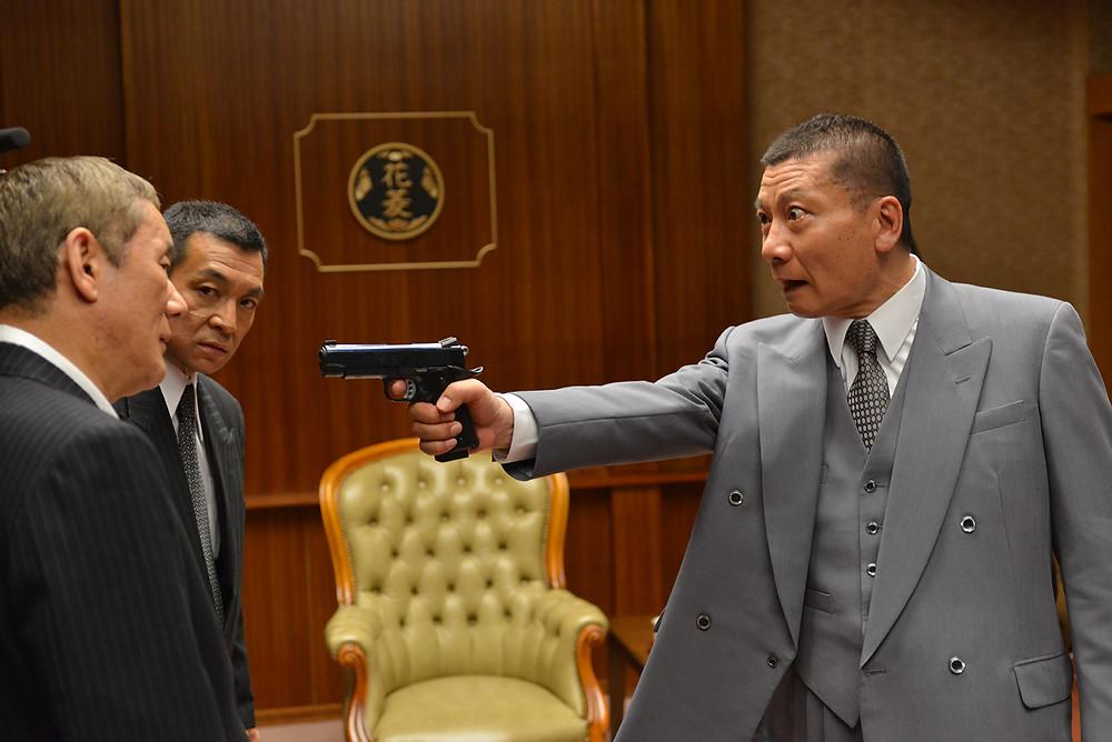 Otomo Kimura y Nakata de los Hanabishi.