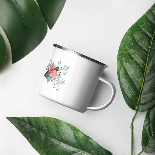 Insight Floral Enamel Mug